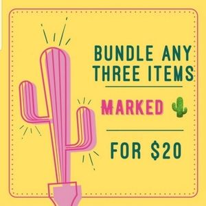 Closet Clear Out! 3 for 20 for 🌵 Items!